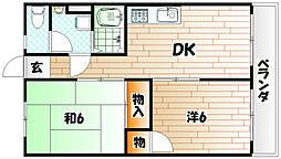 村田ビル[3階]の間取り
