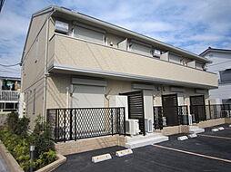 東京都三鷹市野崎3丁目の賃貸アパートの外観
