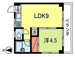 メゾン・ユキ[1階]の間取り