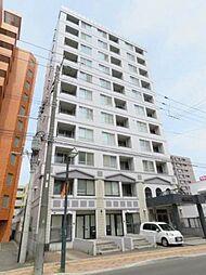 北海道札幌市白石区平和通2丁目南の賃貸マンションの外観