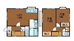[一戸建] 東京都町田市金森2丁目 の賃貸【東京都 / 町田市】の間取り
