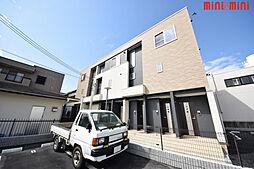 兵庫県伊丹市北園3丁目の賃貸アパートの外観