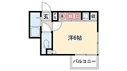PAO甲子園[305号室]の間取り