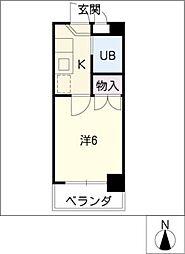 ピア モトマチ[3階]の間取り