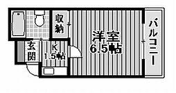 ウインドエアー加守[1階]の間取り