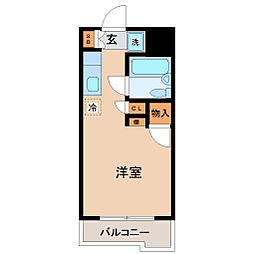メゾン・ド・ポルカ[1階]の間取り