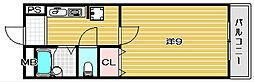 サンシード二番館[213号室]の間取り