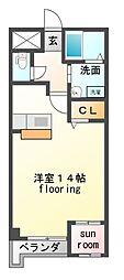 ファイブシティ[9階]の間取り