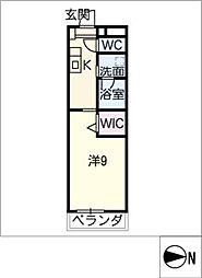 仮)大高Mプロジェクト A棟[2階]の間取り