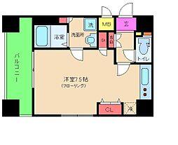 ジュネーゼグラン福島Noda[7階]の間取り
