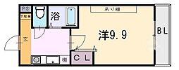 桜ケ丘晴楽館[1201号室]の間取り