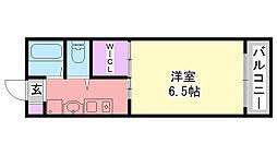 flat福井B棟[302号室]の間取り