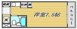 ライオンズマンション西川口第8[3階]の間取り