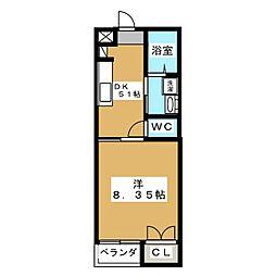 メディメゾン[2階]の間取り