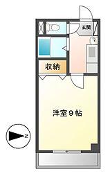 桜マンションⅡ[5階]の間取り
