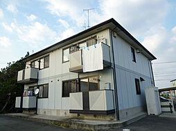 静岡県湖西市新居町中之郷の賃貸アパートの外観
