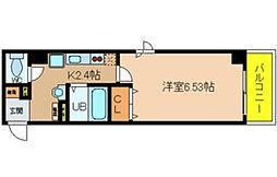 ラ・フォンテ恵美須[9階]の間取り