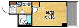 DETOM-1京都外大南[703号室号室]の間取り