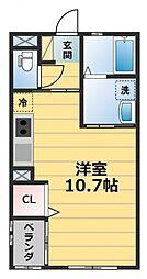 Donguri Heim[2階]の間取り
