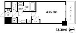 W-STYLE新大阪II[13階]の間取り