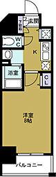 ララプレイス大阪West Prime[15階]の間取り