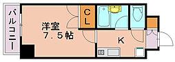 アクアサイドGEN[4階]の間取り