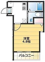 神奈川県川崎市麻生区高石1丁目の賃貸アパートの間取り