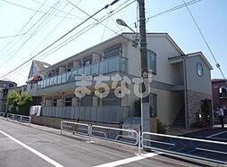 東京都江戸川区鹿骨5丁目の賃貸アパートの外観