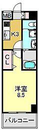 レクシア平野DUO[9階]の間取り