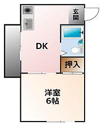 イノブ甲子園[2階]の間取り