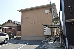 兵庫県姫路市飾磨区東堀の賃貸アパートの外観