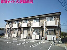 三重県津市一志町片野の賃貸アパートの外観
