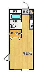 伊都サンクビル[4階]の間取り