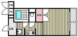 ホリーコート[2階]の間取り