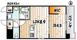 Apartment3771[4階]の間取り