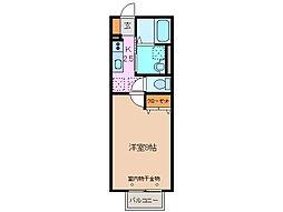 三重県鈴鹿市神戸5丁目の賃貸アパートの間取り