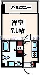 JP レジデンス大阪城東ll[10階]の間取り