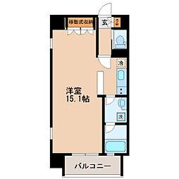 ヴィアーレ新寺[2階]の間取り