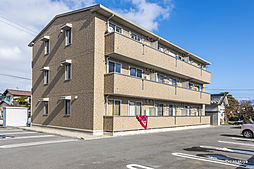 長野県長野市大字上駒沢の賃貸アパートの外観