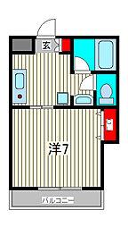 ハイムグレース[3階]の間取り