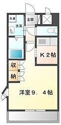 香川県高松市三谷町の賃貸マンションの間取り