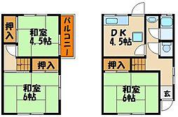 [一戸建] 兵庫県明石市小久保 の賃貸【/】の間取り