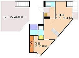 Grandtic D-IV Ijiri[2階]の間取り
