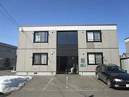 北海道札幌市東区北三十六条東24丁目の賃貸アパートの外観