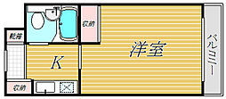 ライオンズマンション渋谷本町[1階]の間取り