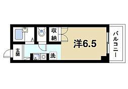 奈良県奈良市あやめ池北3丁目の賃貸マンションの間取り