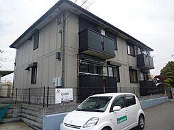 千葉県柏市藤心の賃貸アパートの外観