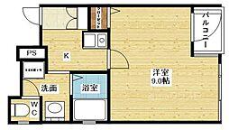 パークシティ東三国[3階]の間取り