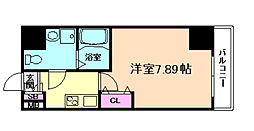 ウインズコート西梅田II[2階]の間取り