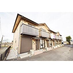 埼玉県日高市楡木の賃貸アパートの外観